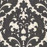 Roberto Cavalli Grand Damask Black Wallpaper