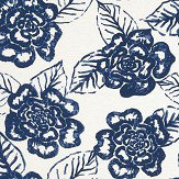 Thibaut Bonita Springs Navy Wallpaper
