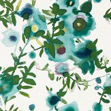 Thibaut Open Spaces Turquoise Wallpaper