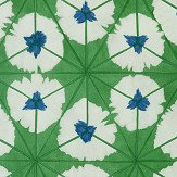Thibaut Sunburst Emerald Green Wallpaper - Product code: T13088