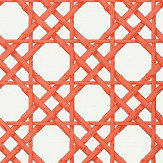 Thibaut Cyrus Cane Coral Wallpaper