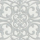 Arthouse Cardinale  Silver Wallpaper