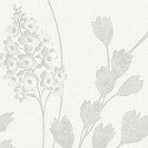 Arthouse Catalina  Silver Wallpaper