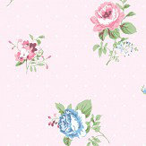 Coordonne Lisianthus Rosa Wallpaper - Product code: 6270111