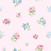 Coordonne Lisianthus Rosa Wallpaper main image