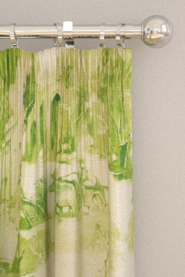 Clarke & Clarke Anastacia Citron Curtains - Product code: F0997/02