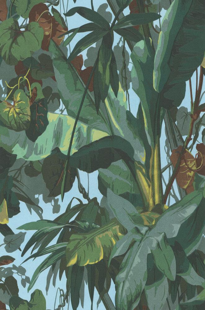 Albany Jungle Green Wallpaper Main Image
