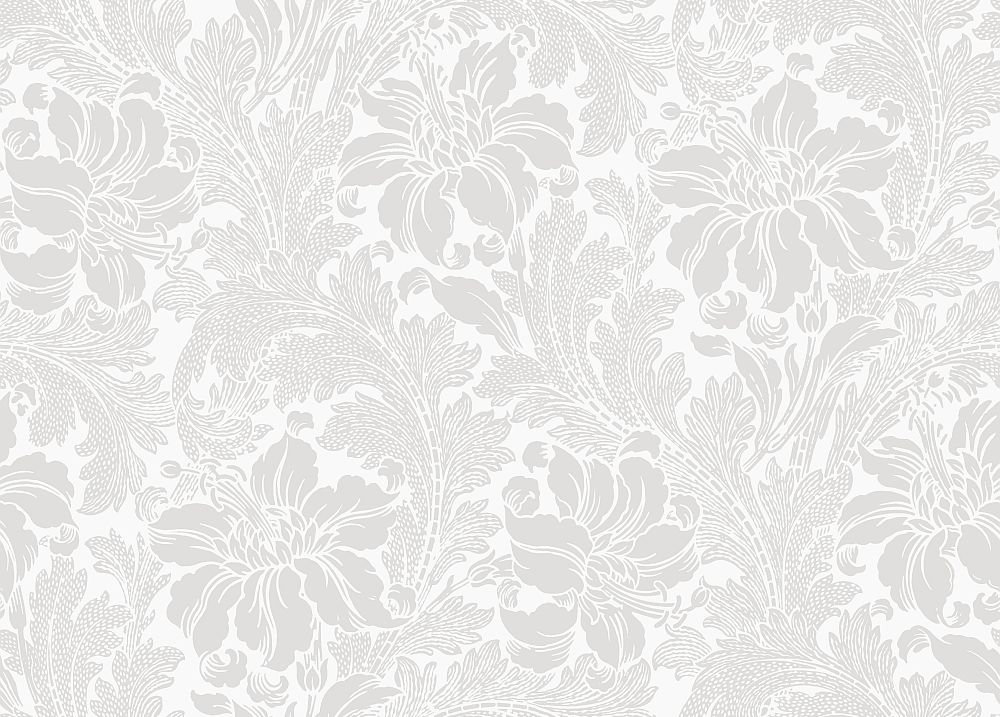 Engblad & Co Acanthus White Wallpaper main image