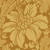 Engblad & Co Acanthus Yellow Wallpaper