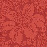 Engblad & Co Acanthus Red Wallpaper