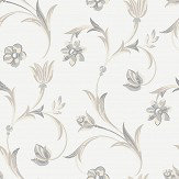 Engblad & Co Kalmar White Wallpaper