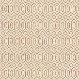 Engblad & Co Sigill Red / Beige Wallpaper