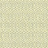 Engblad & Co Sigill Yellow / Green Wallpaper