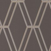 Romo Marquise Charcoal Wallpaper - Product code: W395/04