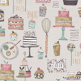 Prestigious Eat Cake Marshmallow Fabric