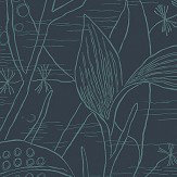 Engblad & Co Alger Blue / Green Wallpaper - Product code: 5371