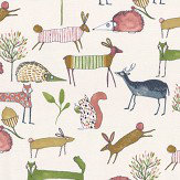 Prestigious Oh my deer Berry Fabric