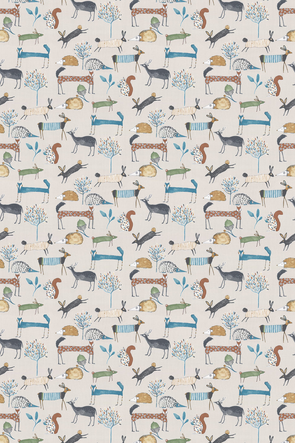 Oh my deer Fabric - Colonial - by Prestigious