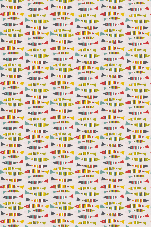 Sardines Fabric - Tutti fruitti - by Prestigious