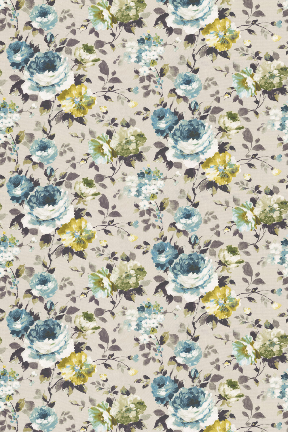 Prestigious Langford Bluebell Fabric - Product code: 5012/768