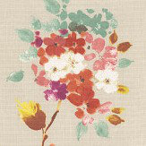 Prestigious Merewood Apricot Fabric - Product code: 5015/401