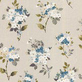 Prestigious Merewood Bluebell Fabric - Product code: 5015/768