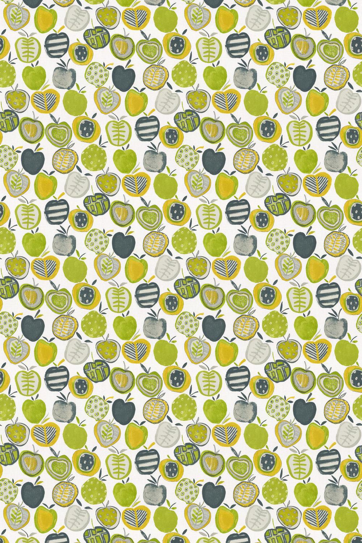 Apples Fabric - Mojito - by Prestigious