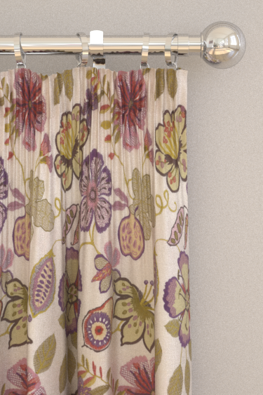 Prestigious Passion flower Orchid Curtains - Product code: 3577/296