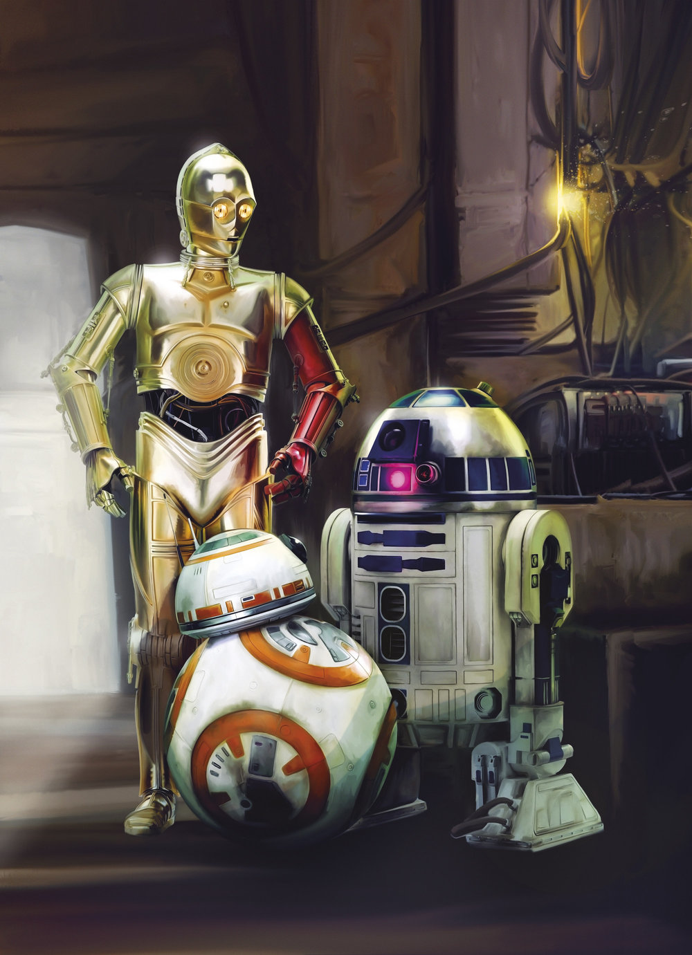 Brewers Star Wars Three Droids Multi Mural - Product code: 4-447