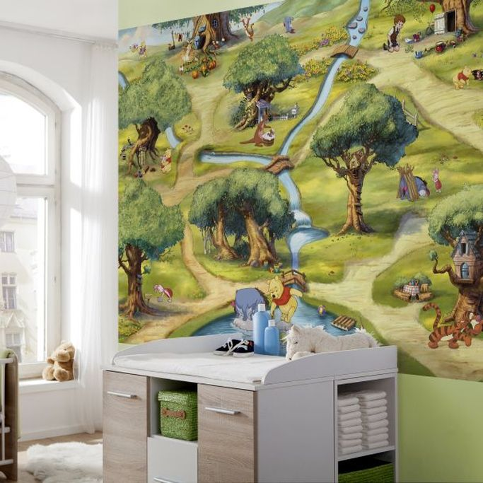 Brewers Winnie Hundermorgenwald Multi Mural - Product code: 4-453
