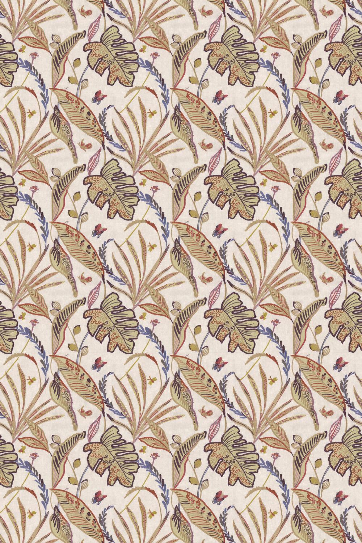 Peru Fabric - Orchid - by Prestigious