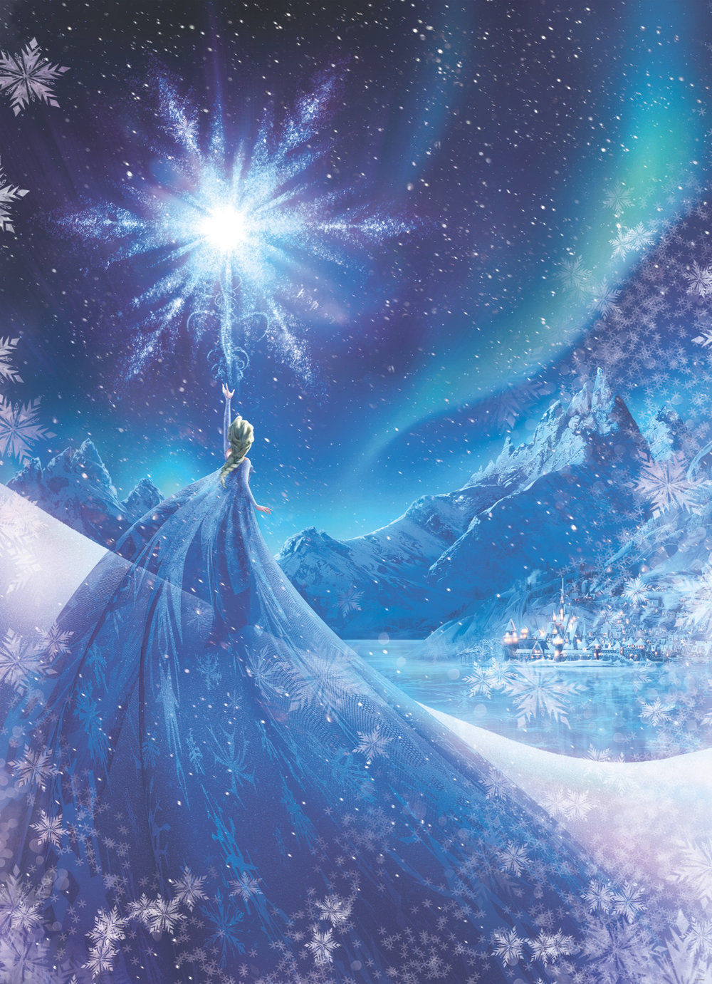 Brewers Frozen Snow Queen Multi Mural - Product code: 4-480