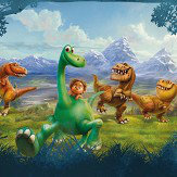 Brewers The Good Dinosaur Multi Mural