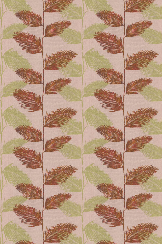 Rainforest Fabric - Cayenne - by Prestigious