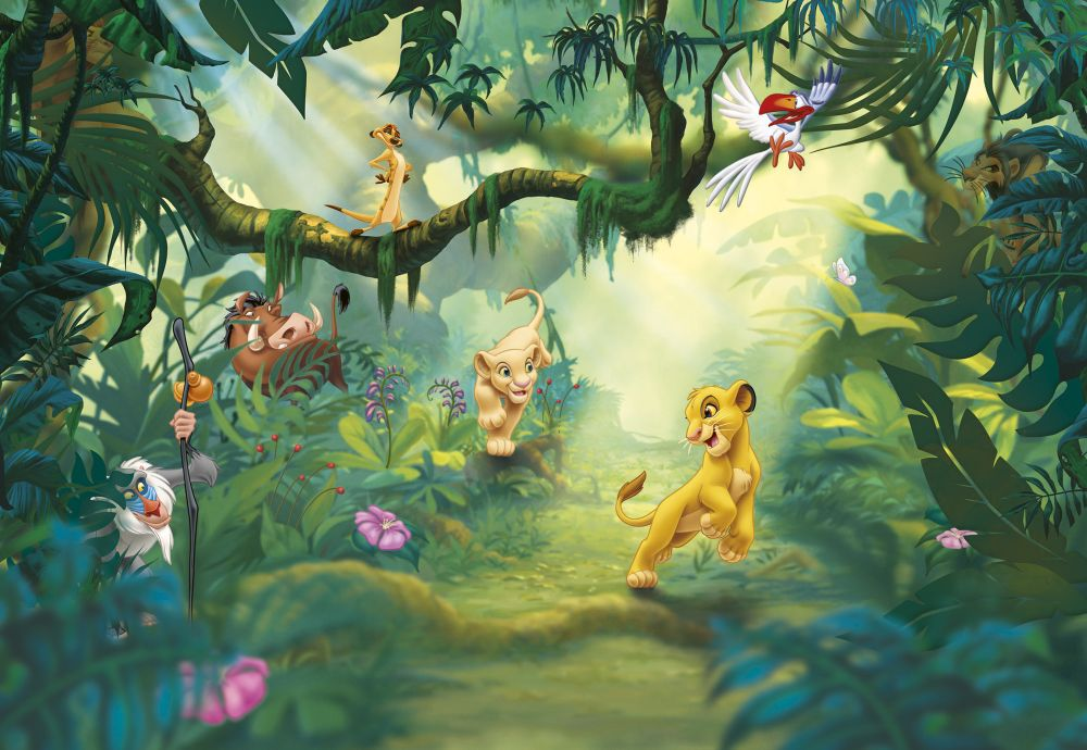 Brewers Lion King Jungle Multi Mural - Product code: 8-475