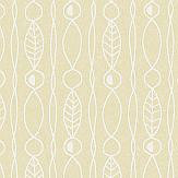 Engblad & Co Lotura Yellow Wallpaper