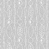 Engblad & Co Lotura Grey Wallpaper