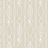 Engblad & Co Lotura Beige / White Wallpaper