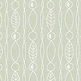 Engblad & Co Lotura Green Wallpaper - Product code: 5380