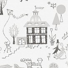 Engblad & Co Garda Grey Wallpaper