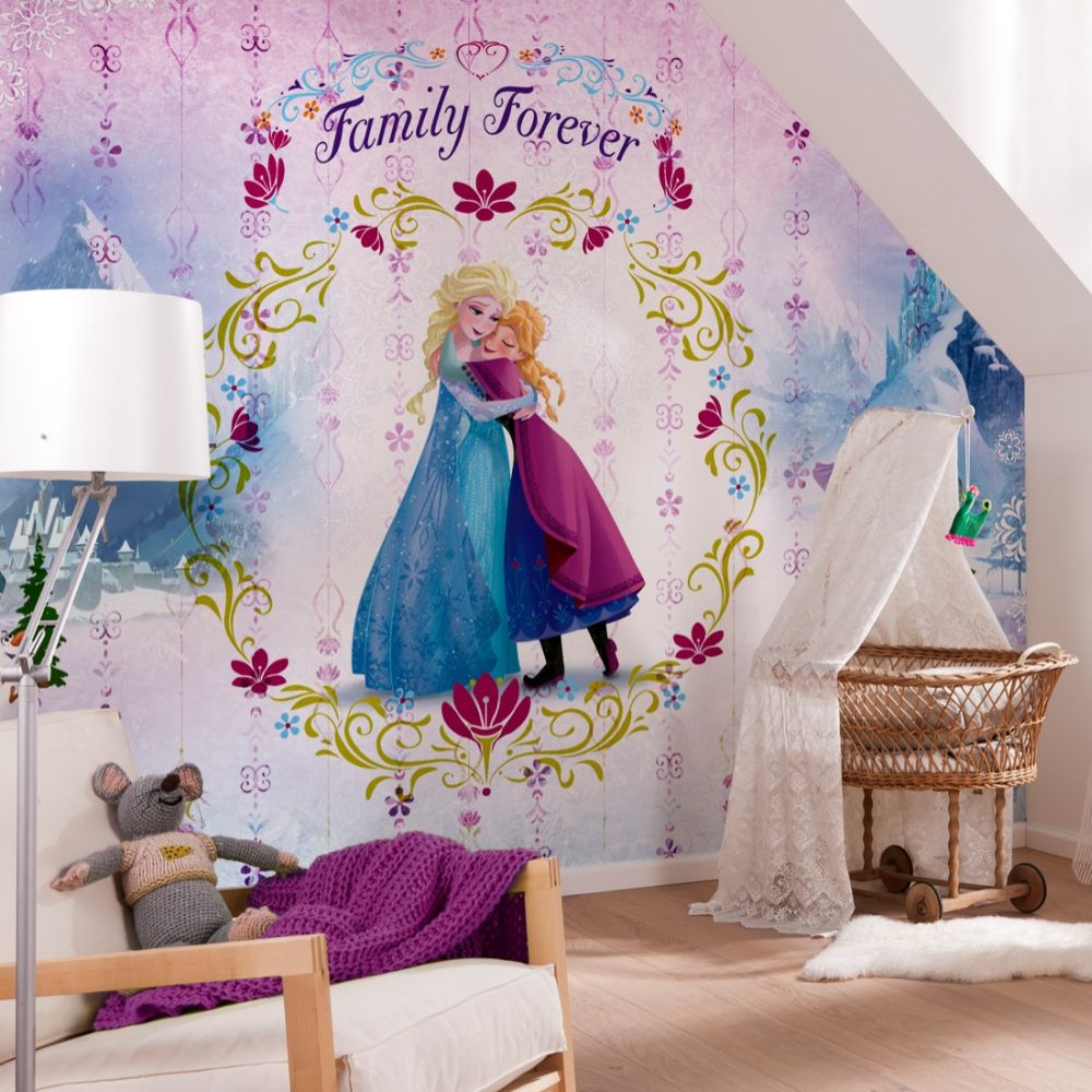 Frozen Family Forever Mural - Multi - by Brewers