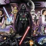 Brewers Star Wars Darth Vader Collage Mural - Product code: 8-482