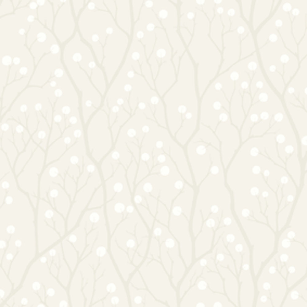 Engblad & Co Snowberry White Wallpaper - Product code: 5252