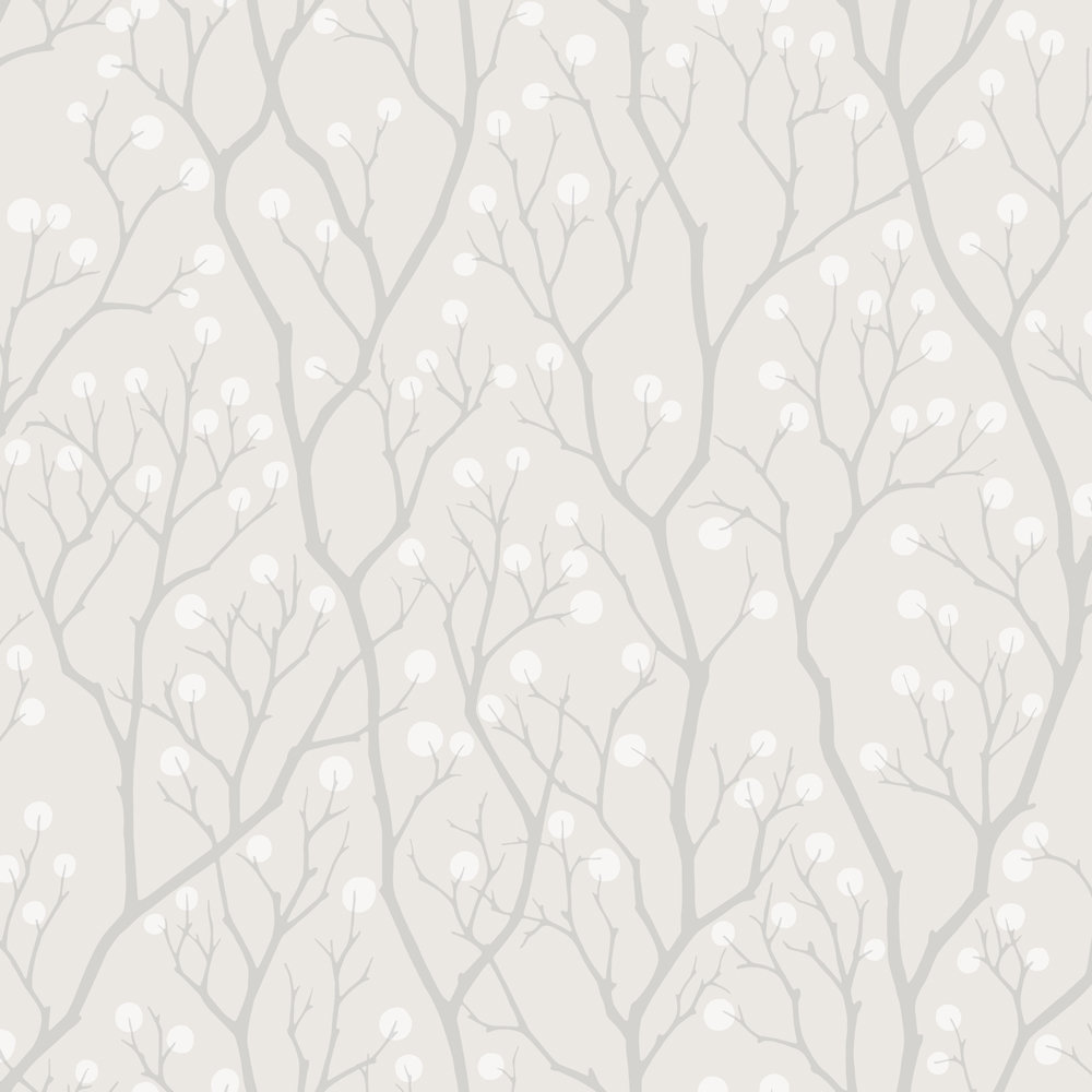 Engblad & Co Snowberry Grey Wallpaper - Product code: 5253