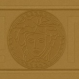 Versace Greek Key Border Gold