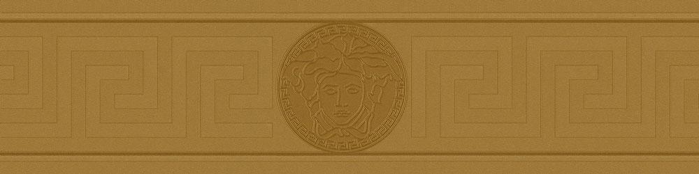 Greek Key Border - Gold - by Versace