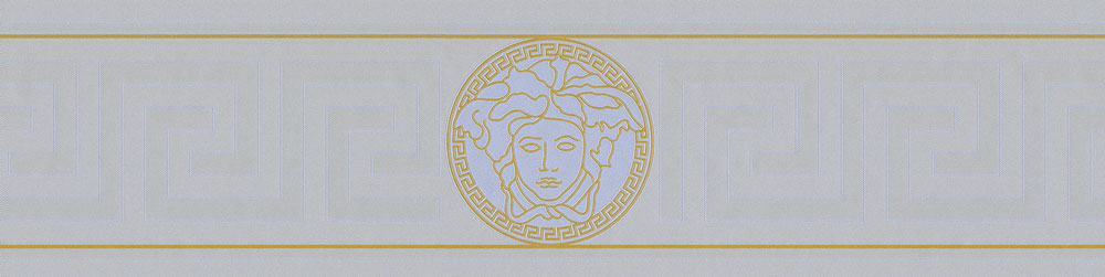 Versace Greek Key Border Silver - Product code: 93522-5