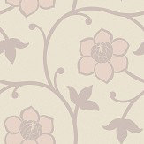 Engblad & Co Clematis Pink Wallpaper