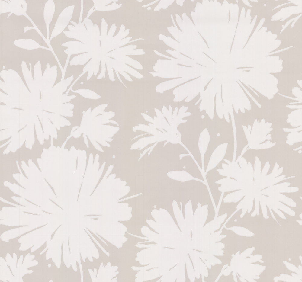 Super Gerbera by Kate Spade - Flax : Wallpaper Direct CP91