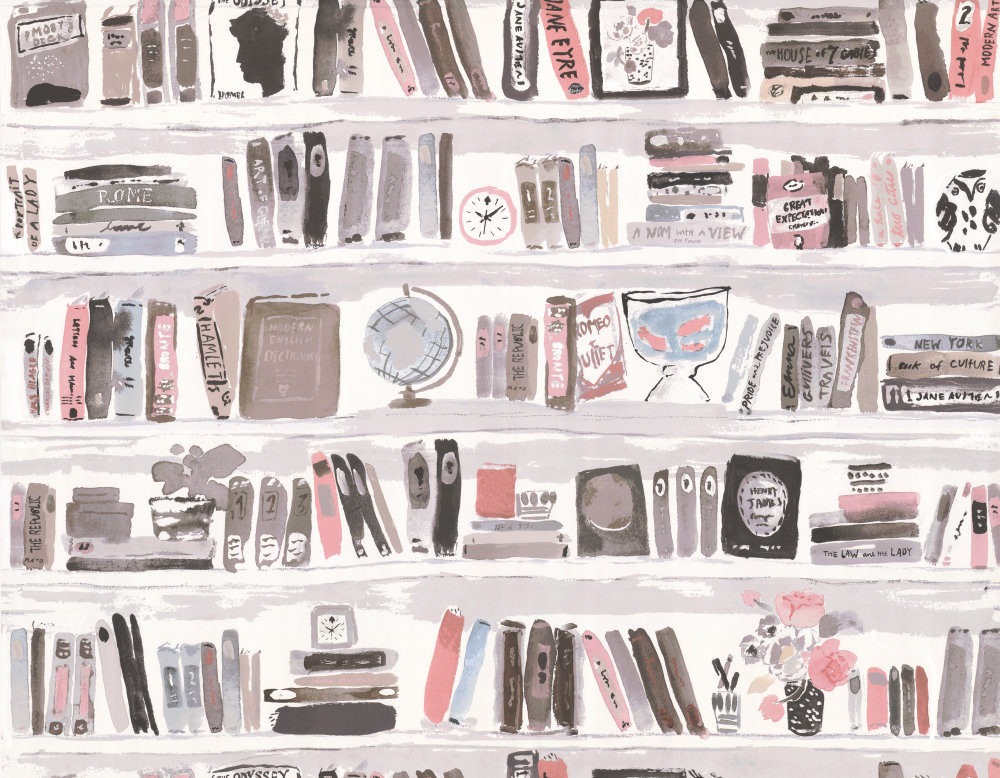 Favori Bella Books by Kate Spade - Blush : Wallpaper Direct UQ85